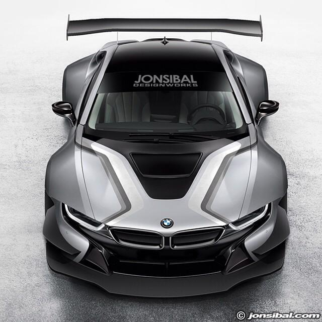 bmw i8 race car