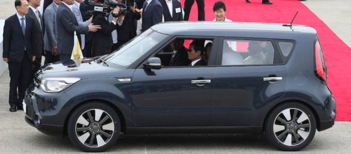 Pope Francis, Park Geun-hye