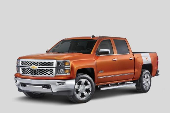 2015 Chevrolet Silverado University of Texas Edition (1)