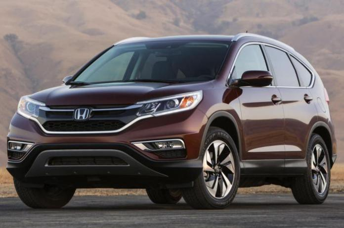 2015 Honda CR-V leaked official photo