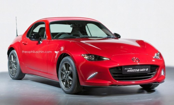 2016 Mazda MX-5 Coupe rendering (1)