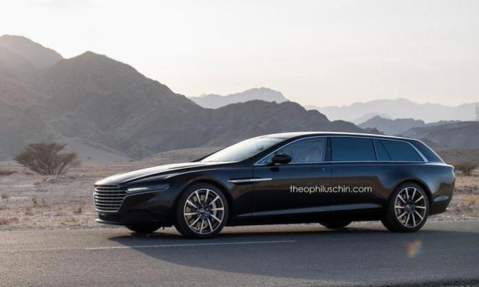 Aston Martin Lagonda Shooting Brake rendering (3)