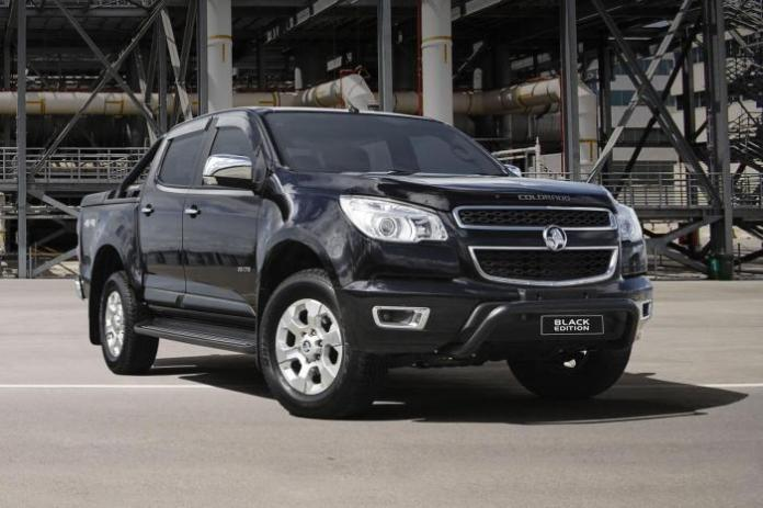 Holden Colorado Black Edition (1)