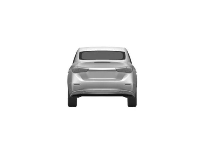 Infiniti LE production version patent photo