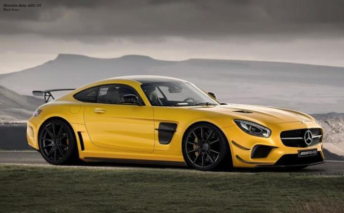Mercedes-AMG GT Black Series rendering