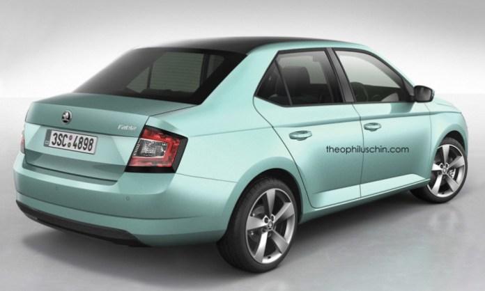 Skoda Fabia Sedan (2)