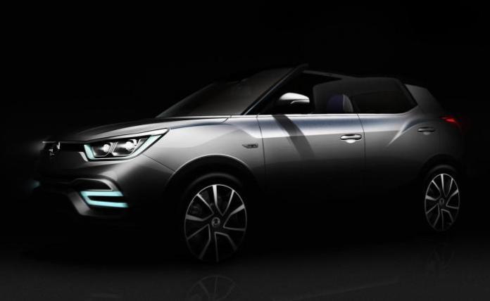 SsangYong XIV-Air concept teaser 1