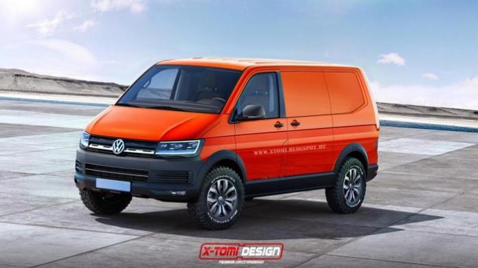 Volkswagen Transporter T6 rendering (2)