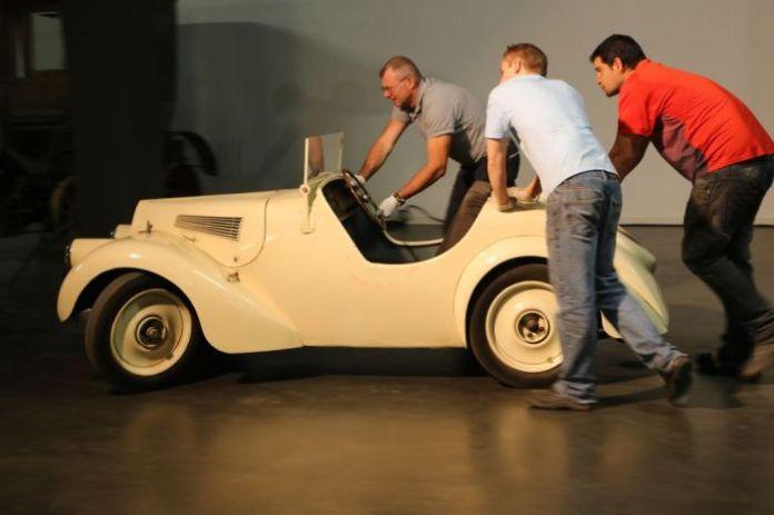 Schlumpfmuseum seltene Fahrzeuge | Schlumpfmuseum