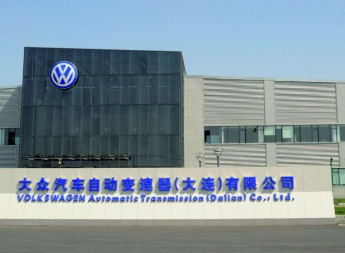 Volkswagen verstaerkt Komponentenfertigung in China/Produktionsstart des Doppelkupplungsgetriebes (DSG) am Standort Dalian