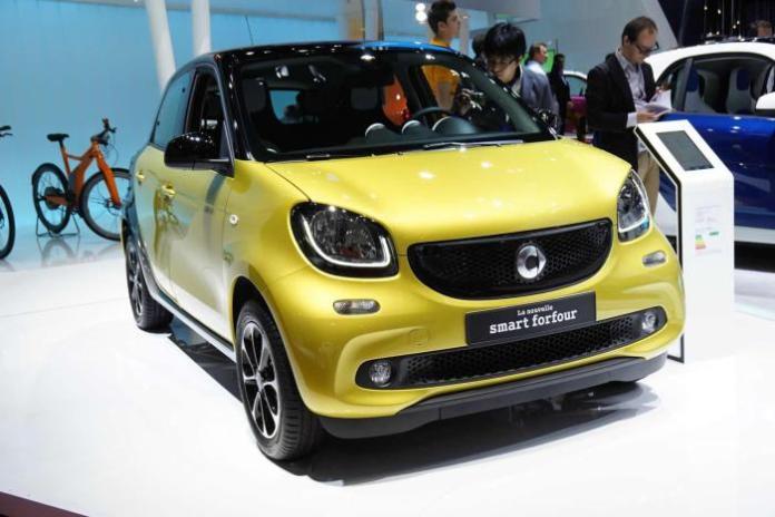 2015 Smart ForFour at 2014 Paris Motor Show 1