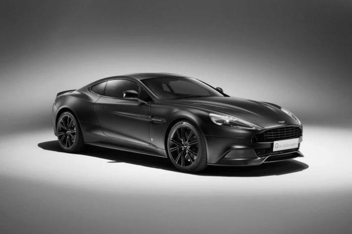 Aston Martin Satin Jet Black Vanquish Coupe (1)