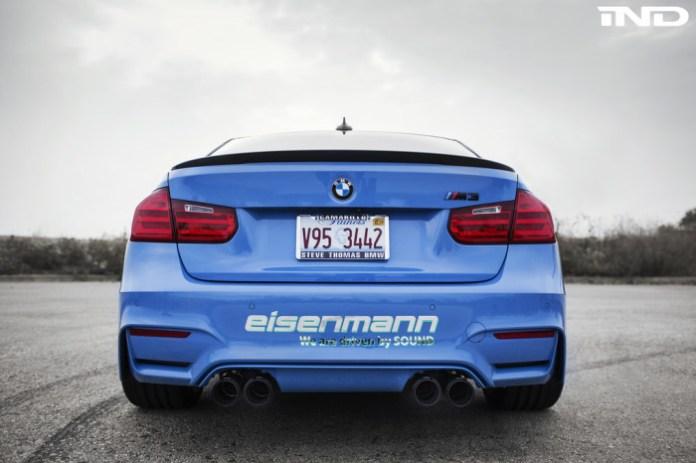 BMW M3 with Eisenmann Exhaust (2)