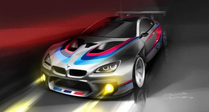 BMW M6 GT3 teaser 1