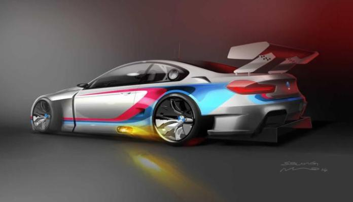 BMW M6 GT3 teaser 2
