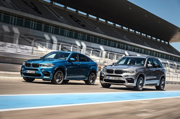 BMW X5 M and X6 M 2015