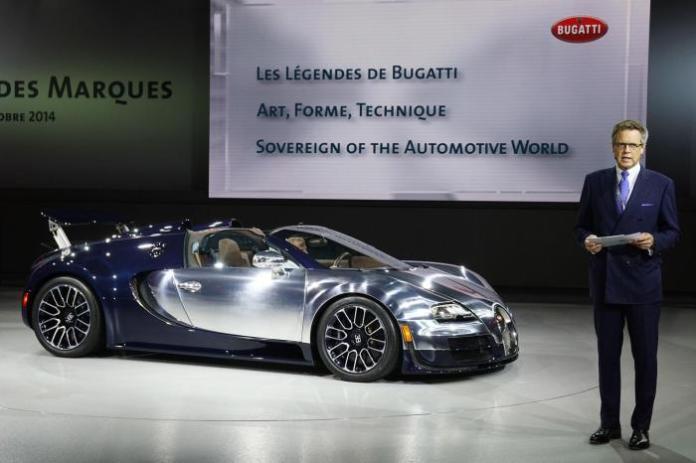 Bugatti Veyron Ettore Bugatti special edition live in Paris 1