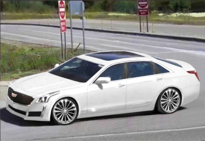 Cadillac CT6 rendering
