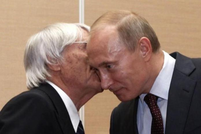 Ecclestone - Putin
