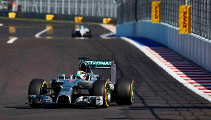Hamilton Russian GP