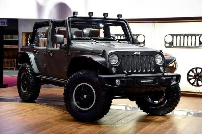Jeep Wrangler Unlimited Rubicon Stealth concept 2