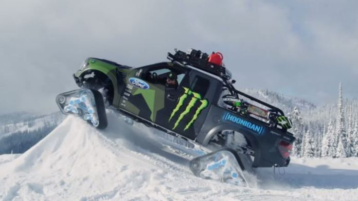 Ken Block Ford F-150 RaptorTrax