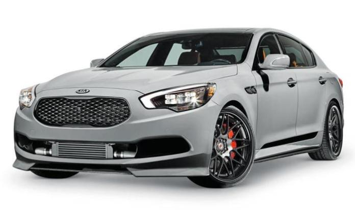 Kia K900 High-Performance concept for SEMA