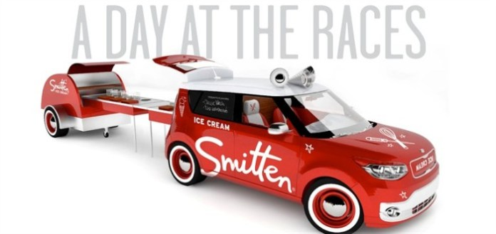 Kia Soul EV Smitten Ice Cream Truck for SEMA