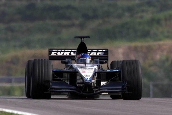 Malaysia Fernando Alonso Minardi F1 2001 1