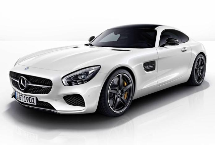 Mercedes-AMG GT with Night Package 1