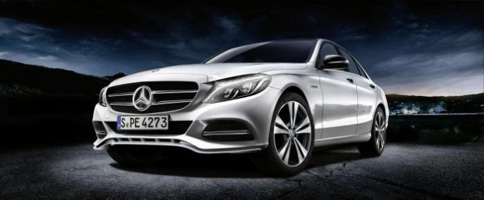 Mercedes C-Class with genuine accessories 1