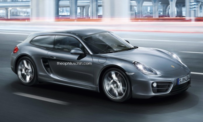 Porsche Cayman Shooting Brake (1)