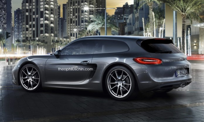 Porsche Cayman Shooting Brake (2)