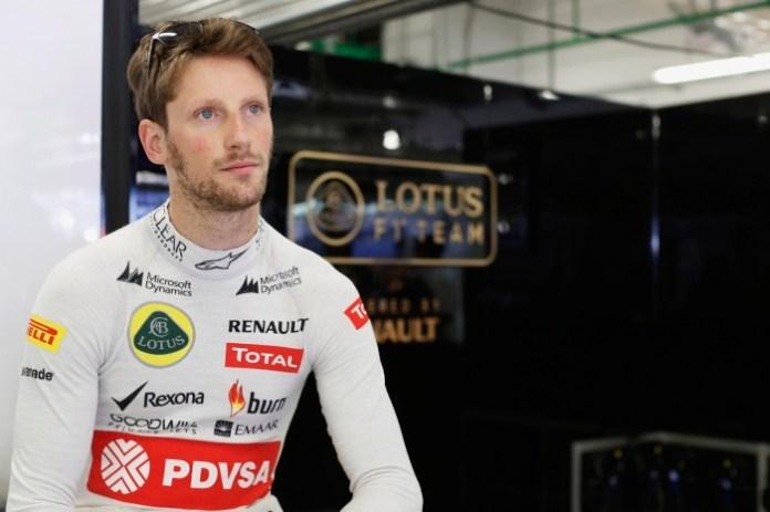 Sochi Autodrom, Sochi, Russia. Sunday 12 October 2014. Romain Grosjean, Lotus F1. Photo: Alastair Staley/Lotus F1 Team. ref: Digital Image _R6T4380