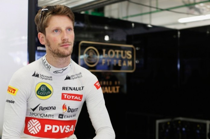 Sochi Autodrom, Sochi, Russia. Sunday 12 October 2014. Romain Grosjean, Lotus F1. Photo: Alastair Staley/Lotus F1 Team. ref: Digital Image _R6T4380