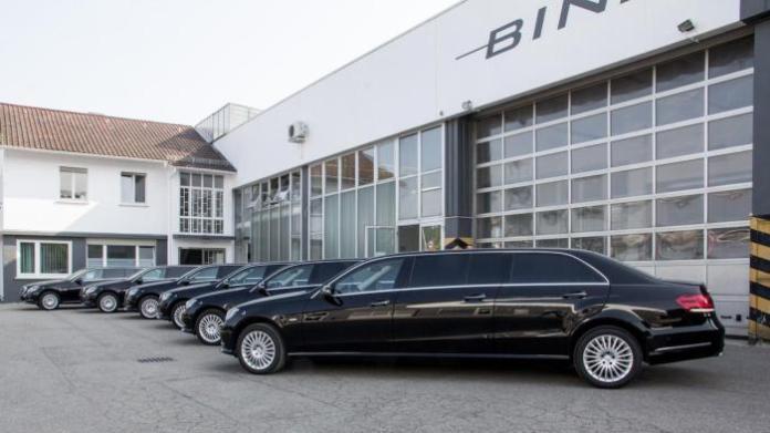 Six-door Mercedes-Benz E-Class facelift by Binz 5