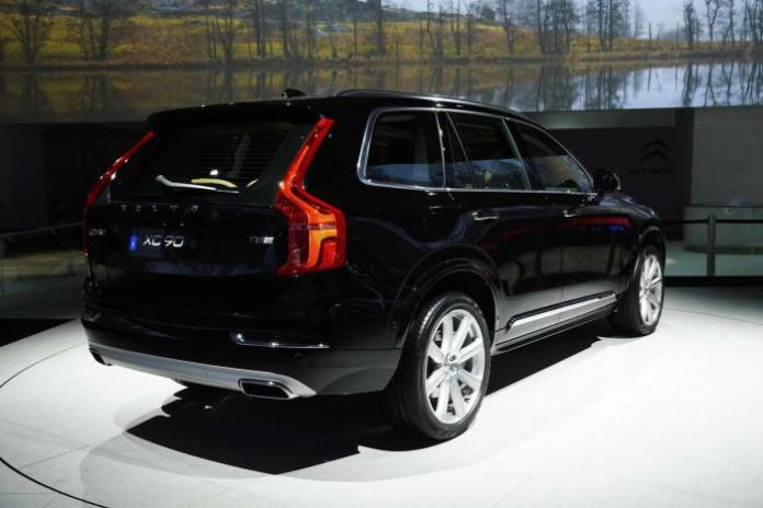 Volvo XC90 2015 Live in Paris 2014