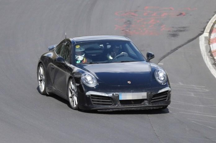 2015 Porsche 911 facelift spy photos