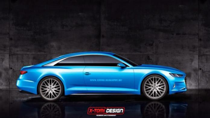 Audi A9 rendering (2)