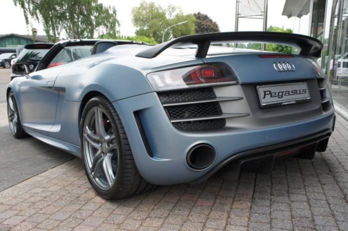 Audi R8 GT Spyder stolen 2