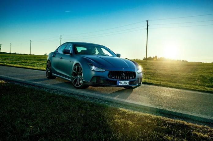 Maserati Ghibli by Novitec (1)