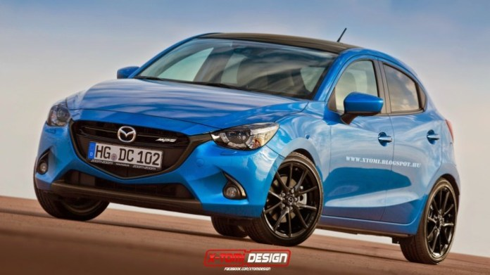 Mazda 2 MPS Front2