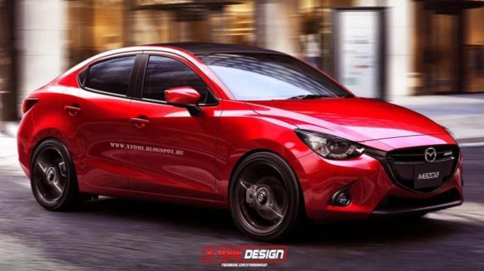 Mazda2 MPS Sedan rendering