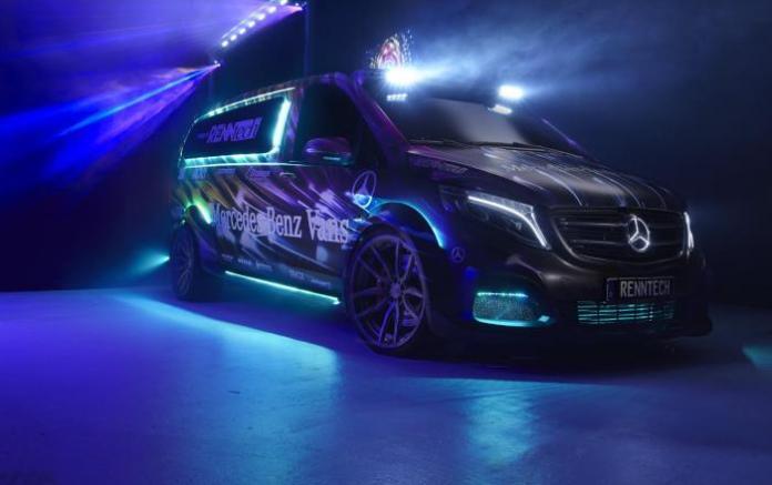 Mercedes-Benz Metris concept RENNtech PartyDJ Van