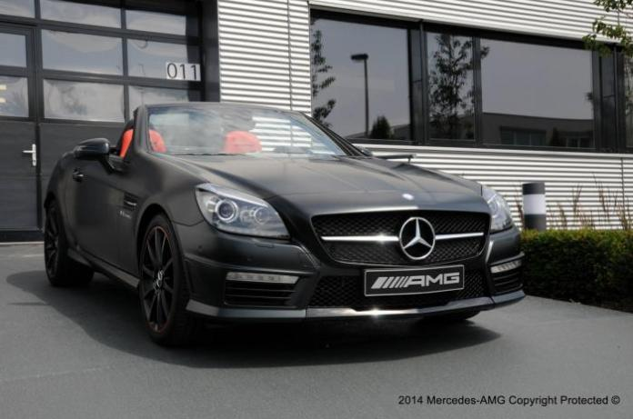 Mercedes SLK 55 AMG by the AMG Performance Studio 1