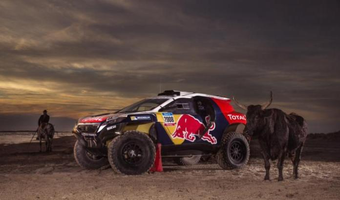 Peugeot 2008 DKR with 2015 Dakar rally livery (2)