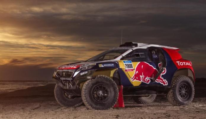 Peugeot 2008 DKR with 2015 Dakar rally livery (3)
