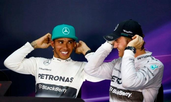 Rosberg - Hamilton