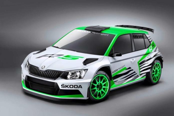 Skoda Fabia R5 concept 1