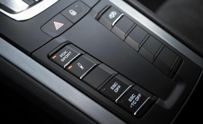 2015 Porsche 911 GT3 with PDK Sport button